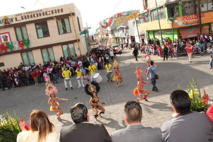 Arranco la Feria Matlalcueyetl Tetlanohcan 2018 con un desfile