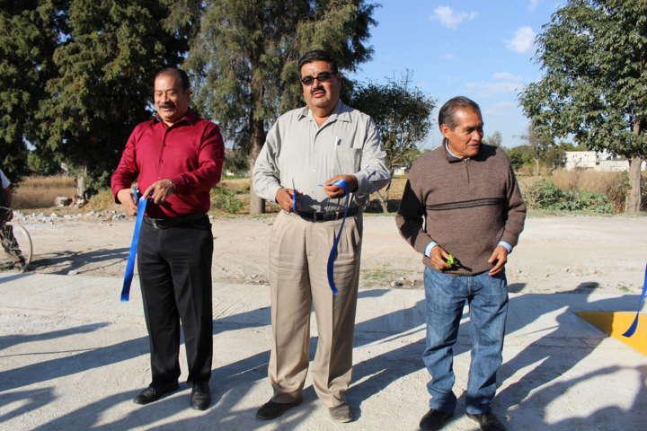 Inaugura Francisco Román Sánchez puente vehicular
