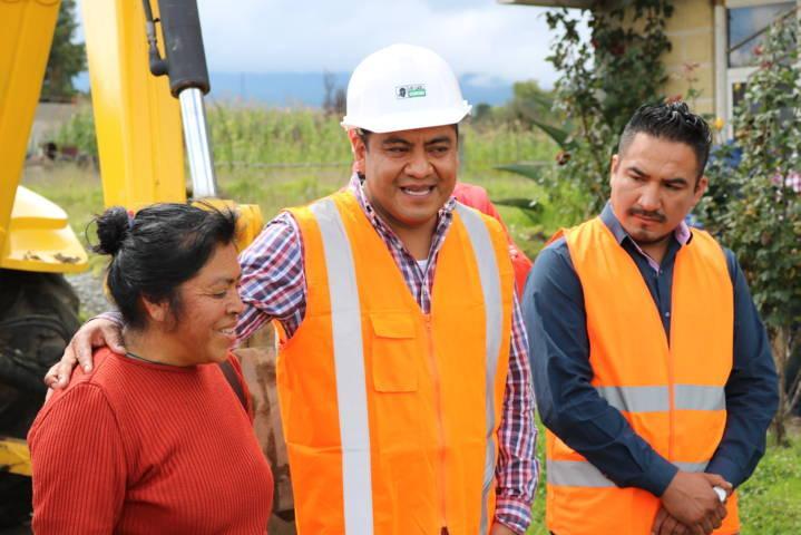 Destina Chiautempan más de 1 mdp para obras de drenaje sanitario