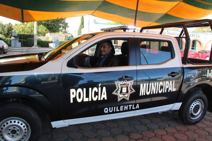 Alcalde refuerza la seguridad con una patrulla nueva