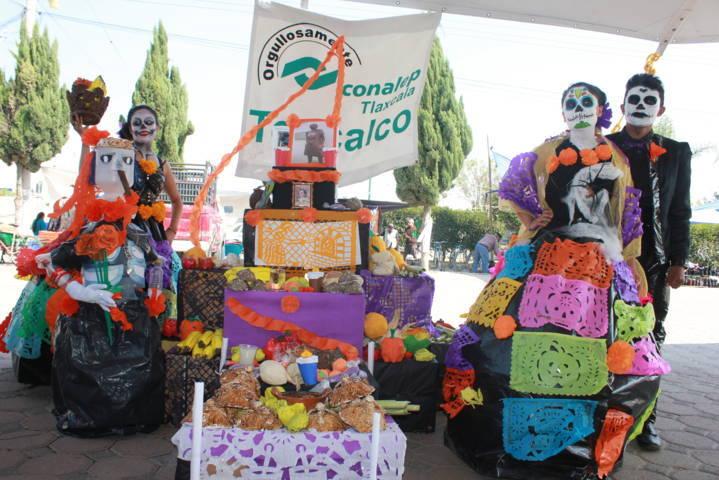 Teacalco realiza concurso de ofrendas para rescatar tradiciones: Caridad Desampedro