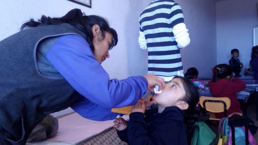 En curso la Semana Nacional de Salud en Tzompantepec