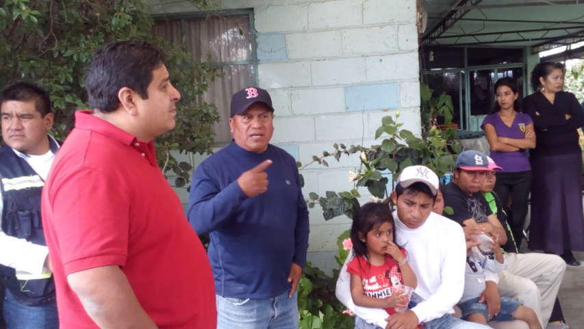 Entregan obra de drenaje en Tzompantepec