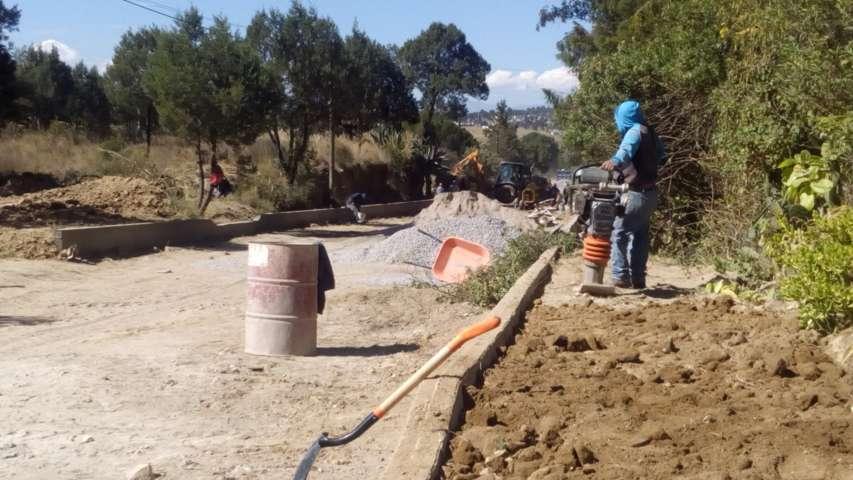 Administración municipal de Tzompantepec cierra con más obra pública