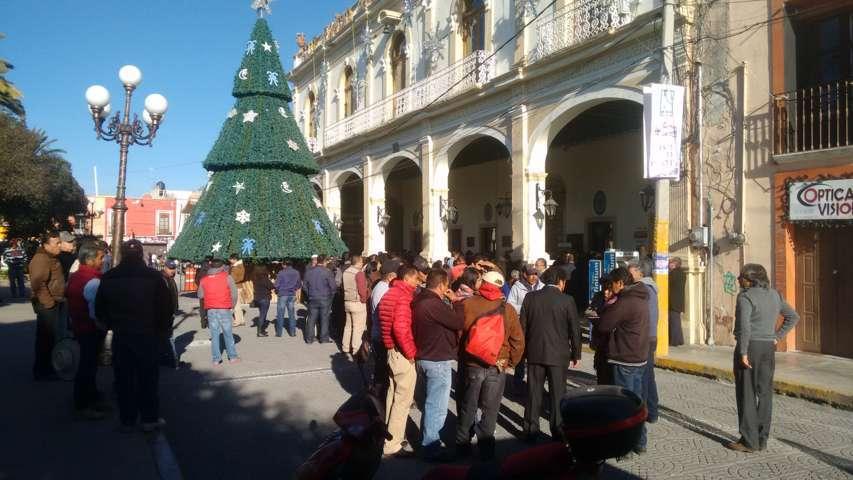 Aún incierto el pago de prestaciones a trabajadores municipales de Calpulalpan