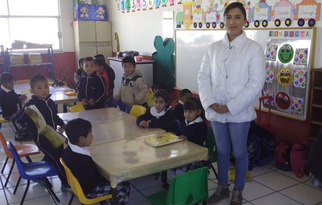 Reanudan actividades en el preescolar de San Mateo Ayecac
