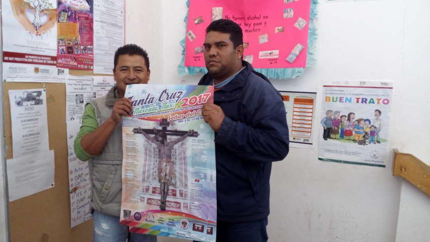 Todo listo para recibir a miles de visitantes en Santa Cruz Tlaxcala