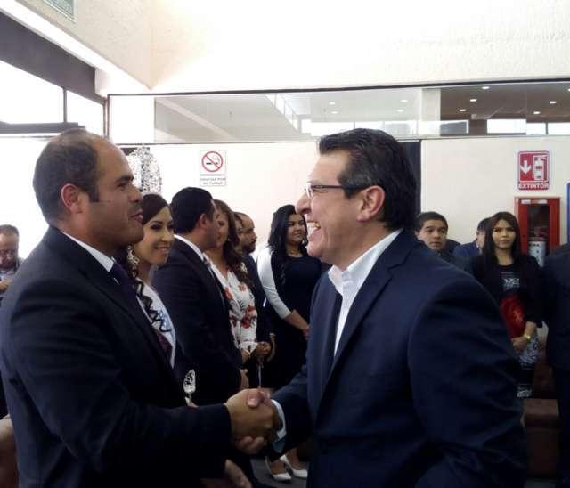 Sostuvo Sanabria Chávez acercamiento con el gobernador de Tlaxcala.