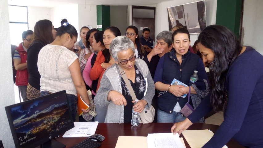 Capacitan en iniciación de panadería en Santa Cruz Tlaxcala