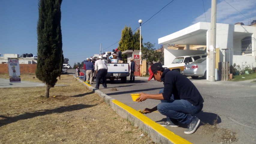 """""""Faenas comunitarias"""" beneficiaron a habitantes de  Villas de San Miguel"""