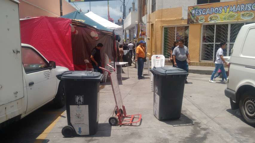 "Implementan en Calpulalpan eficaz operativo ""Feria Limpia"""