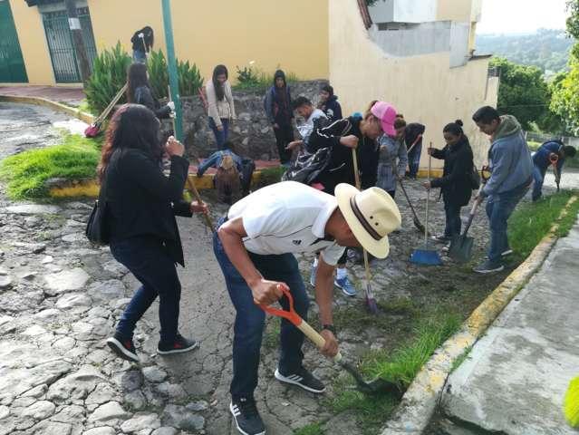 Brinda Capital oportuna atención de limpieza a espacios públicos