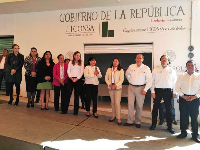 Liconsa instala nueva lechería en Tizatlán