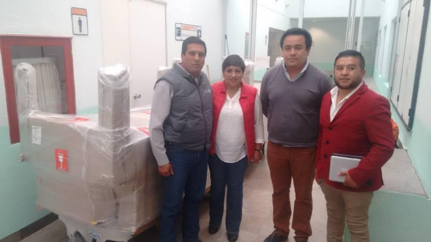 Hospital General de Calpulalpan cuenta con nuevo equipamiento gracias a regiduría de salud
