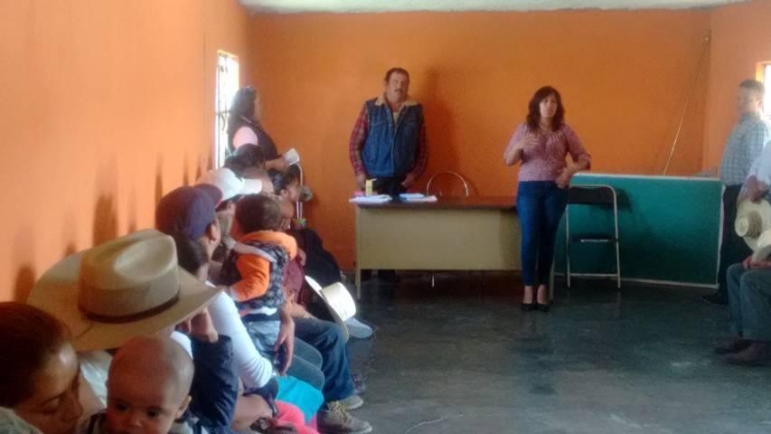 Diputada Eréndira Cova Brindis recorre constantemente Distrito I sirviendo a la ciudadanía
