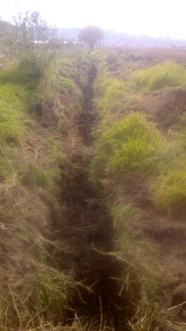 Gobierno de Lardizábal y Comisaría Ejidal realizan desazolve de drenes
