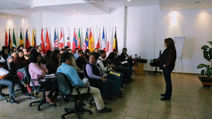 Impartió SEDECO curso sobre patentes