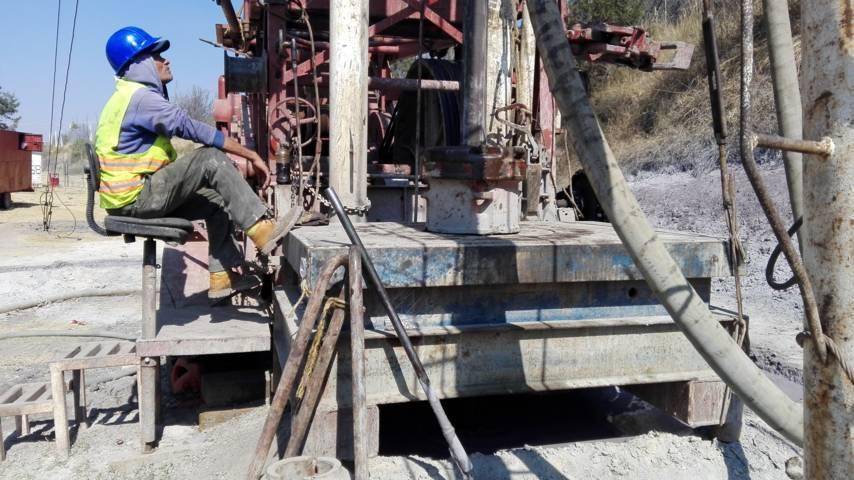 Con el fais se perfora un pozo de agua potable en Sanctorum: Sedesol