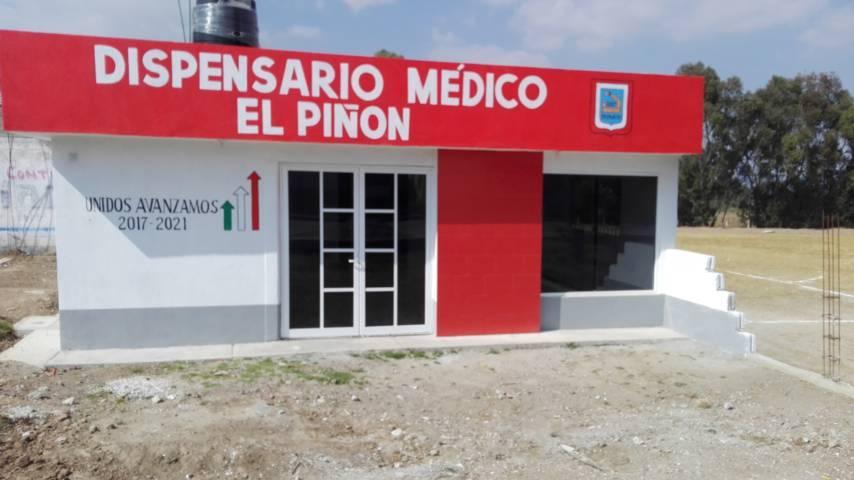 Sedesol supervisa obras de dos dispensarios médicos en Españita