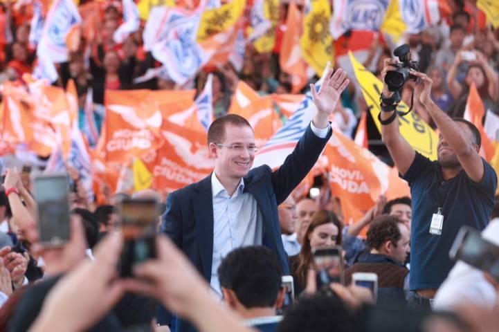 Registra Coalición Por México al Frente a Ricardo Anaya como candidato a la Presidencia