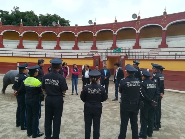 Crean la Policía Turística en la capital de Tlaxcala