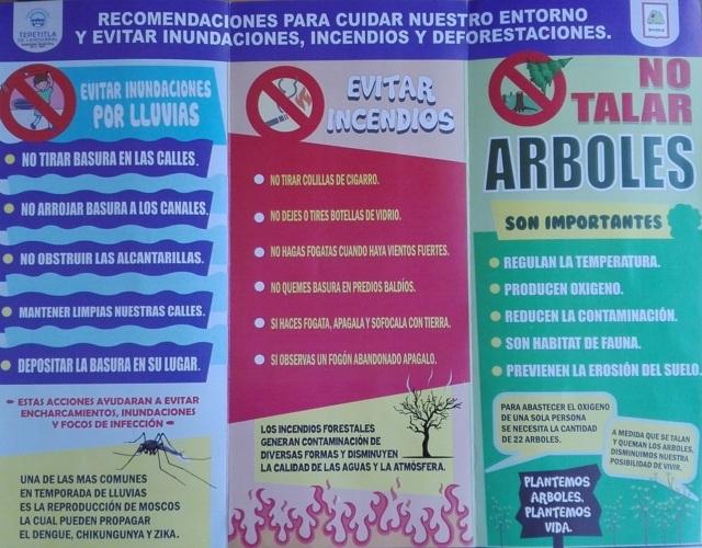 Gobierno de Tepetitla promueve acciones para el cuidado del medio ambiente