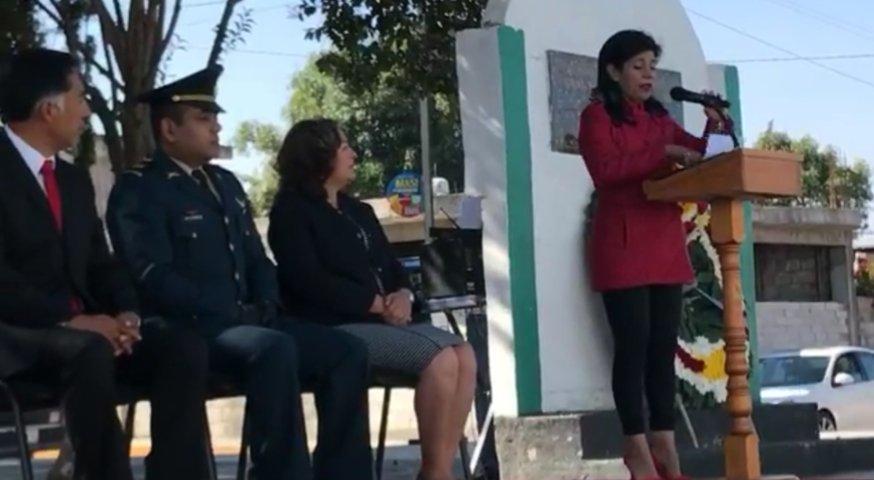 Conmemoran al General Felipe Villegas en Papalotla