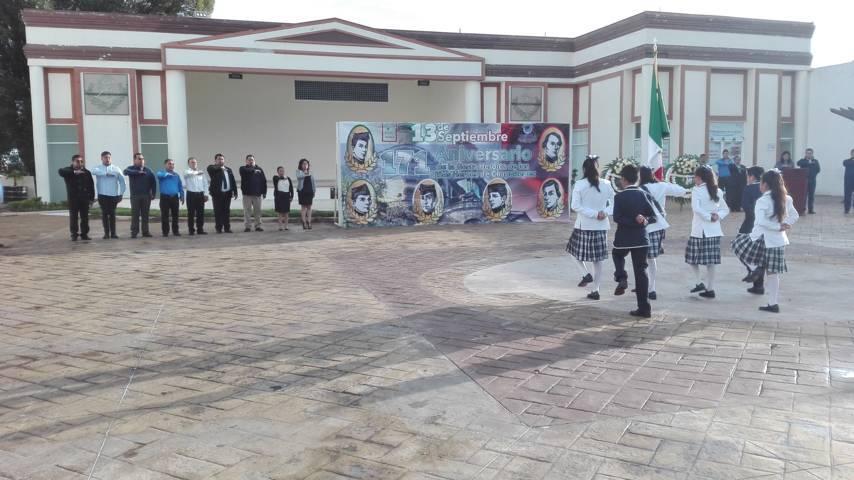 En Lardizábal recuerdan a los Niños Héroes