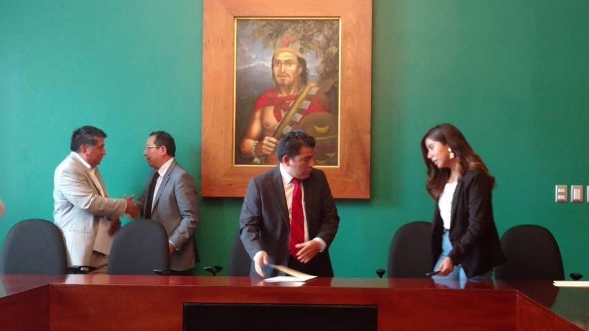 Preside José Luis Garrido Comisión Ordinaria De Asuntos Municipales