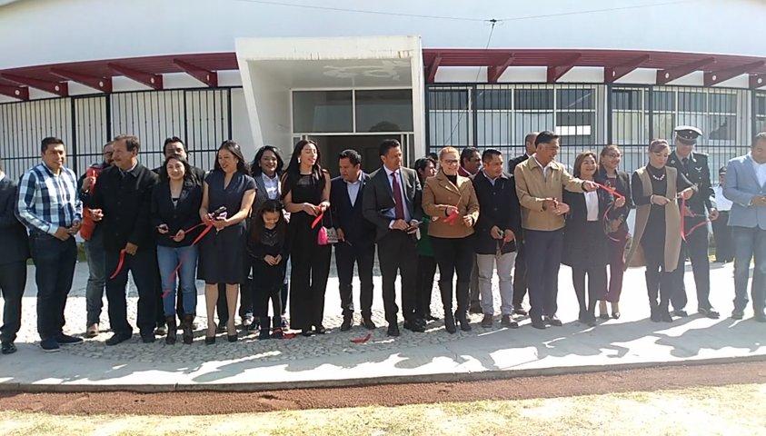Inaugura autoridades municipales de Papalotla y estatales Centro De Monitoreo