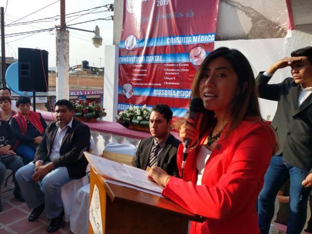 María Félix Pluma inaugura Casa de Atención Ciudadana en Chiautempan