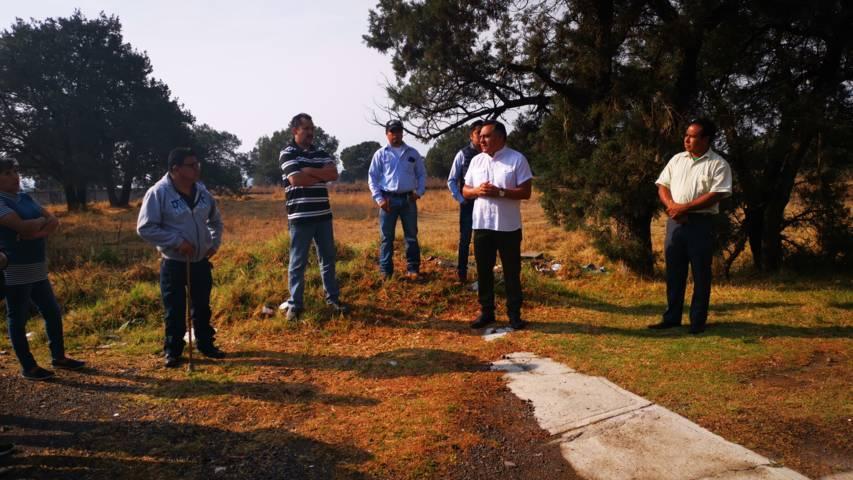Alcalde de Tetla acude a las comunidades a escuchar sus necesidades