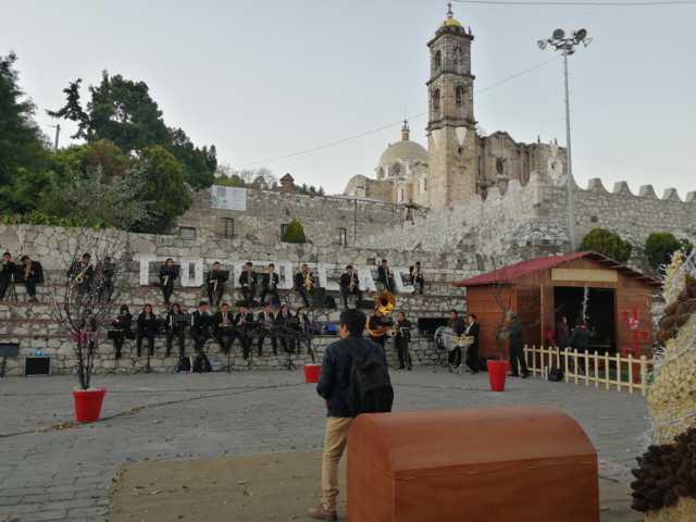 Implementan protocolo de seguridad en feria patronal de San Juan Bautista/ Totolac