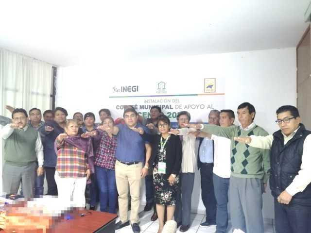 Instalan en Totolac Comité Municipal de Apoyo del Censo 2020