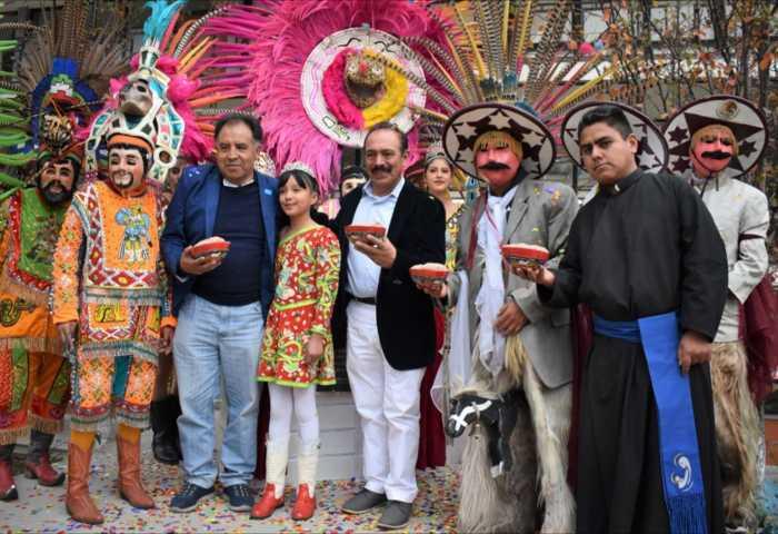 TOA impulsa las tradiciones carnavalescas en la Plaza del Huehue en el Seminario