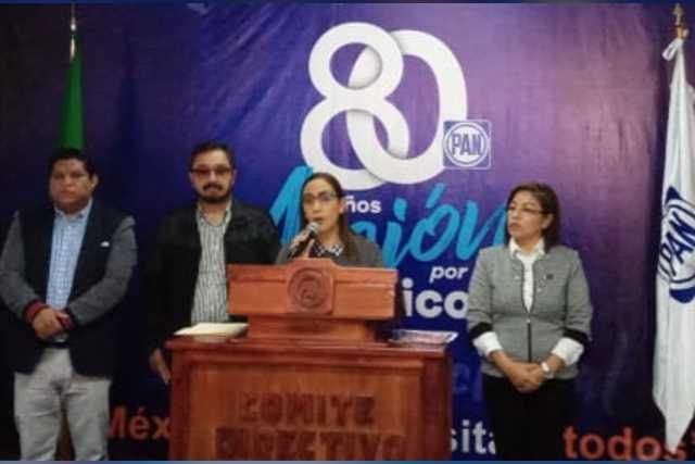 PAN exhorta al gobernador a no firmar la adhesión al INSABI