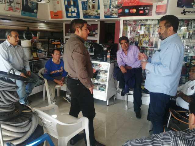 Se suman a las acciones de seguridad vecinos vigilantes y comerciantes en Totolac
