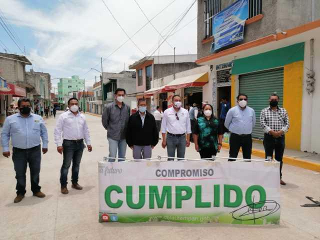 En Chiautempan se ha avanzado con obras públicas