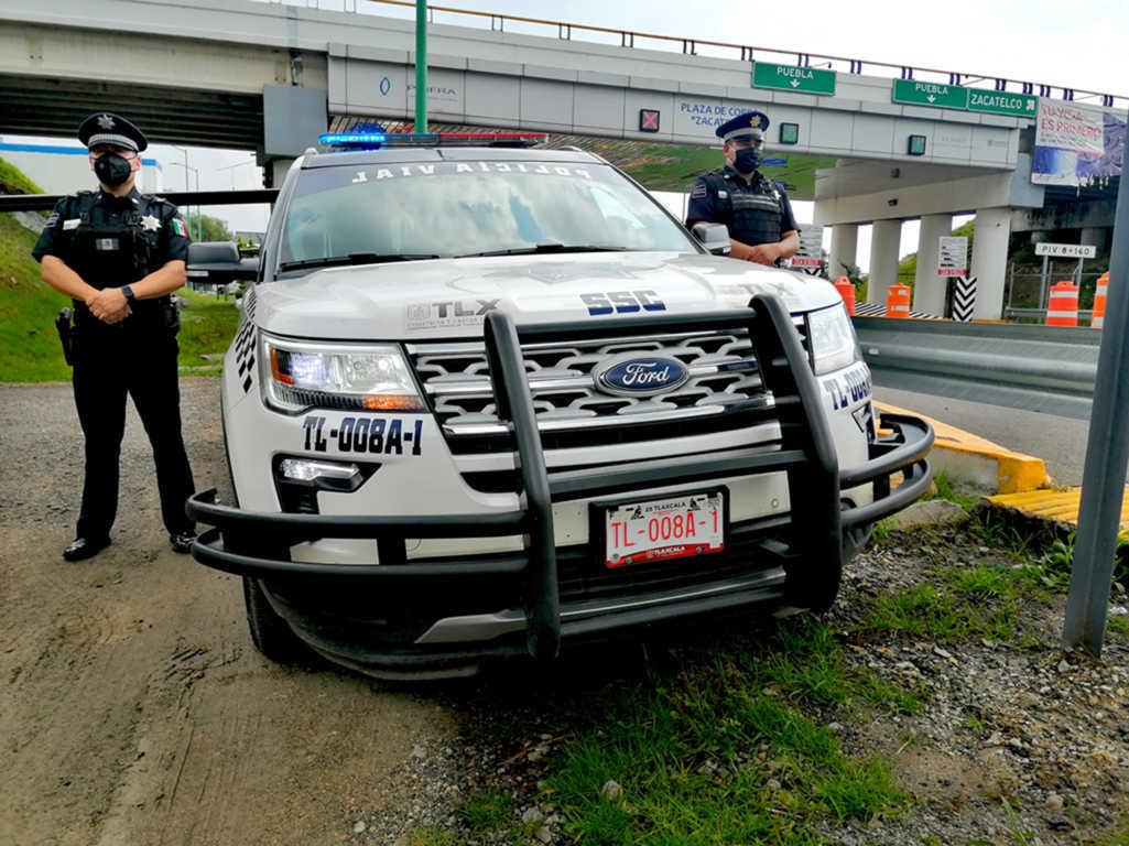 La policía estatal de caminos y vialidad pone en marcha el Operativo Alerta