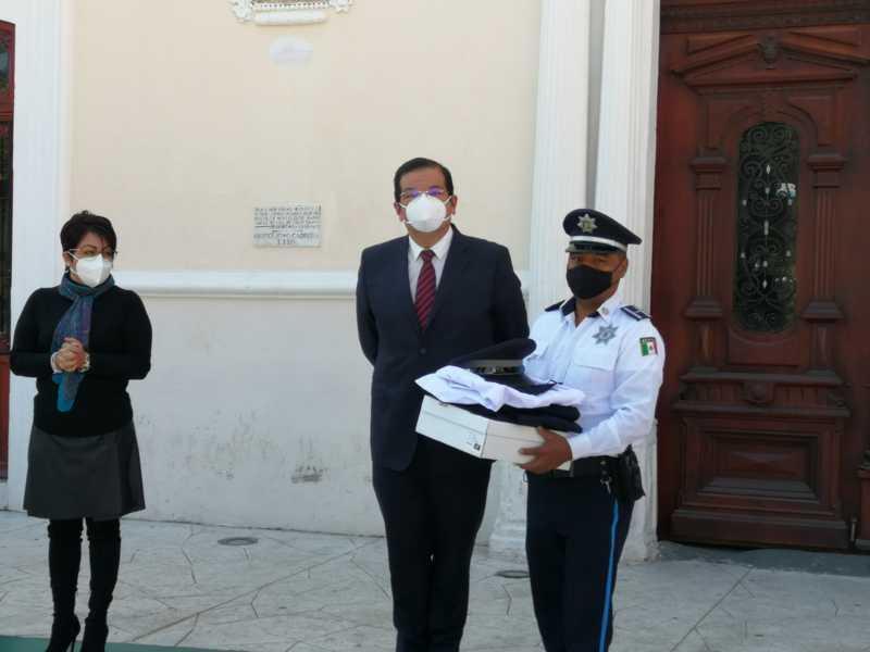 Sánchez Jasso siguen reforzando la seguridad en Huamantla