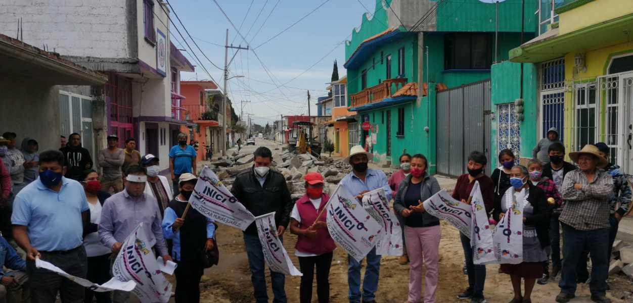 Murias Juárez invertirá 1.6 mdp en la rehabilitación de la calle Reforma
