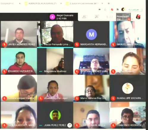 """COBAT-TBC realiza con éxito reuniones virtuales """"Academias 2021-A"""""""