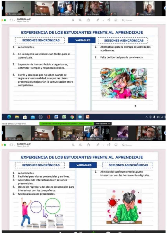 """Participan docentes del COBAT-TBC en videoconferencia """"Retos del Proceso Enseñanza-Aprendizaje"""""""