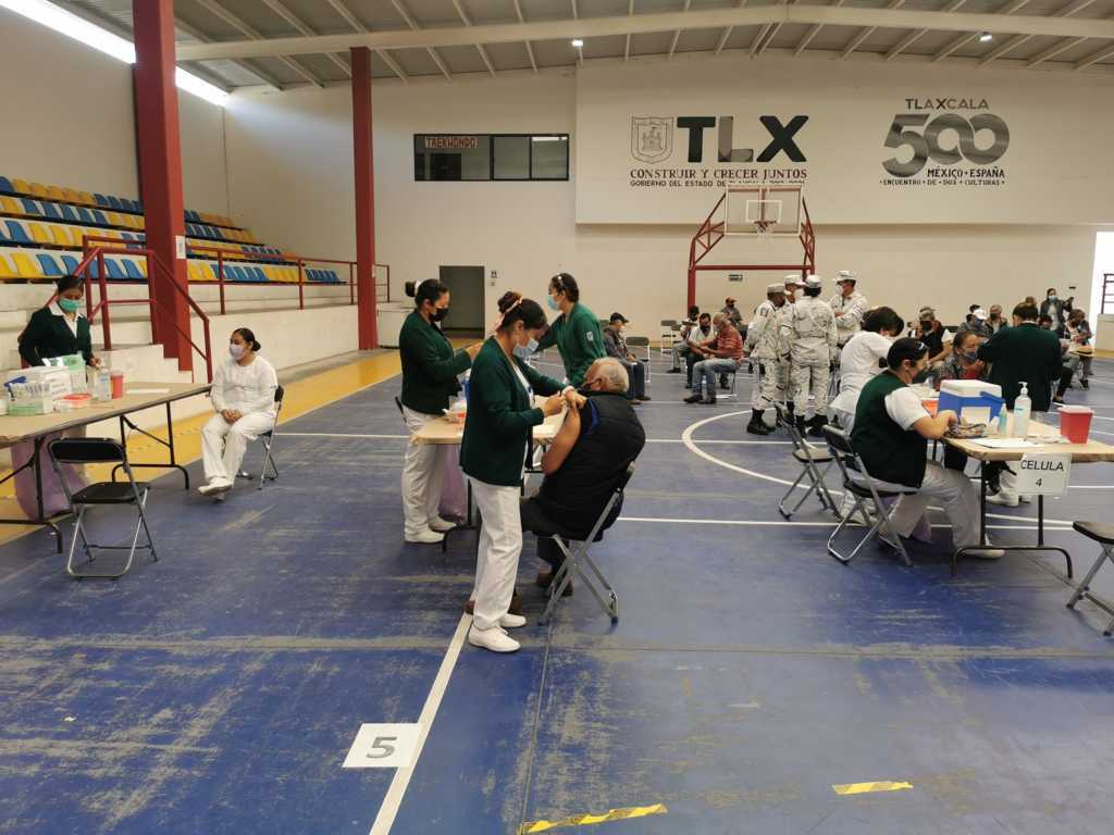 Vacunarán a personas de 40 a 49 años en Zacatelco