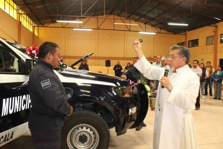 Con estas 3 nuevas patrullas mejoraremos la seguridad en el municipio: alcalde