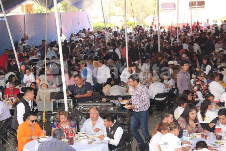 El Festival de la Carpa y el Pulque reunió a más 3 mil comensales: alcalde