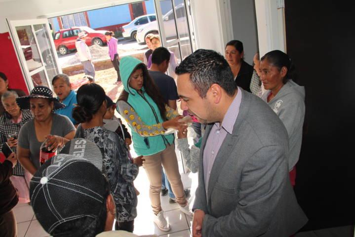 El Piñón y la Reforma ahora cuentan con un dispensario médico: González Guarneros