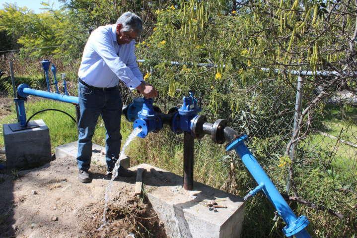 Con la rehabilitación del pozo de agua mejoramos la calidad de vida: alcalde