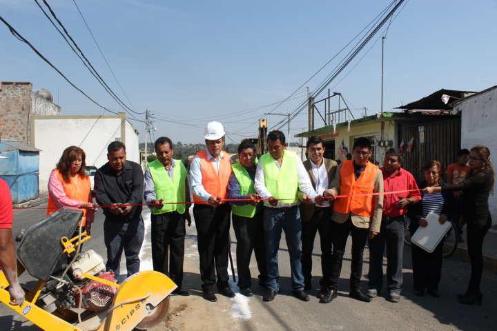 Inician en Santa Cruz Tlaxcala ejecución de obras FISM 2017