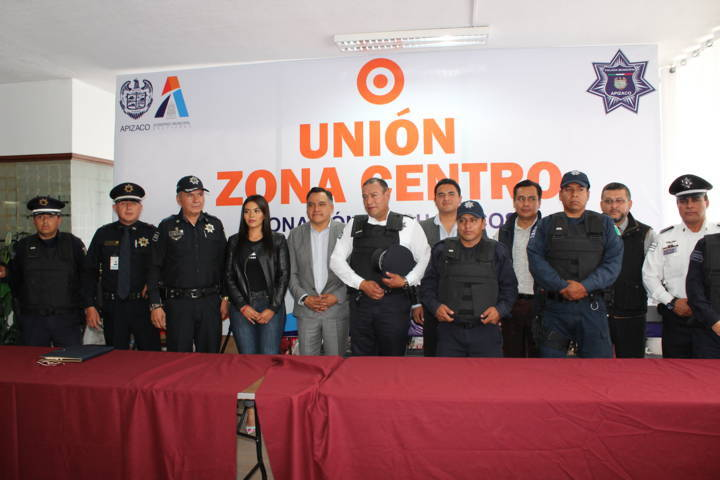 Recibe Policía Municipal de Tetla de la Solidaridad, 20 chalecos antibalas